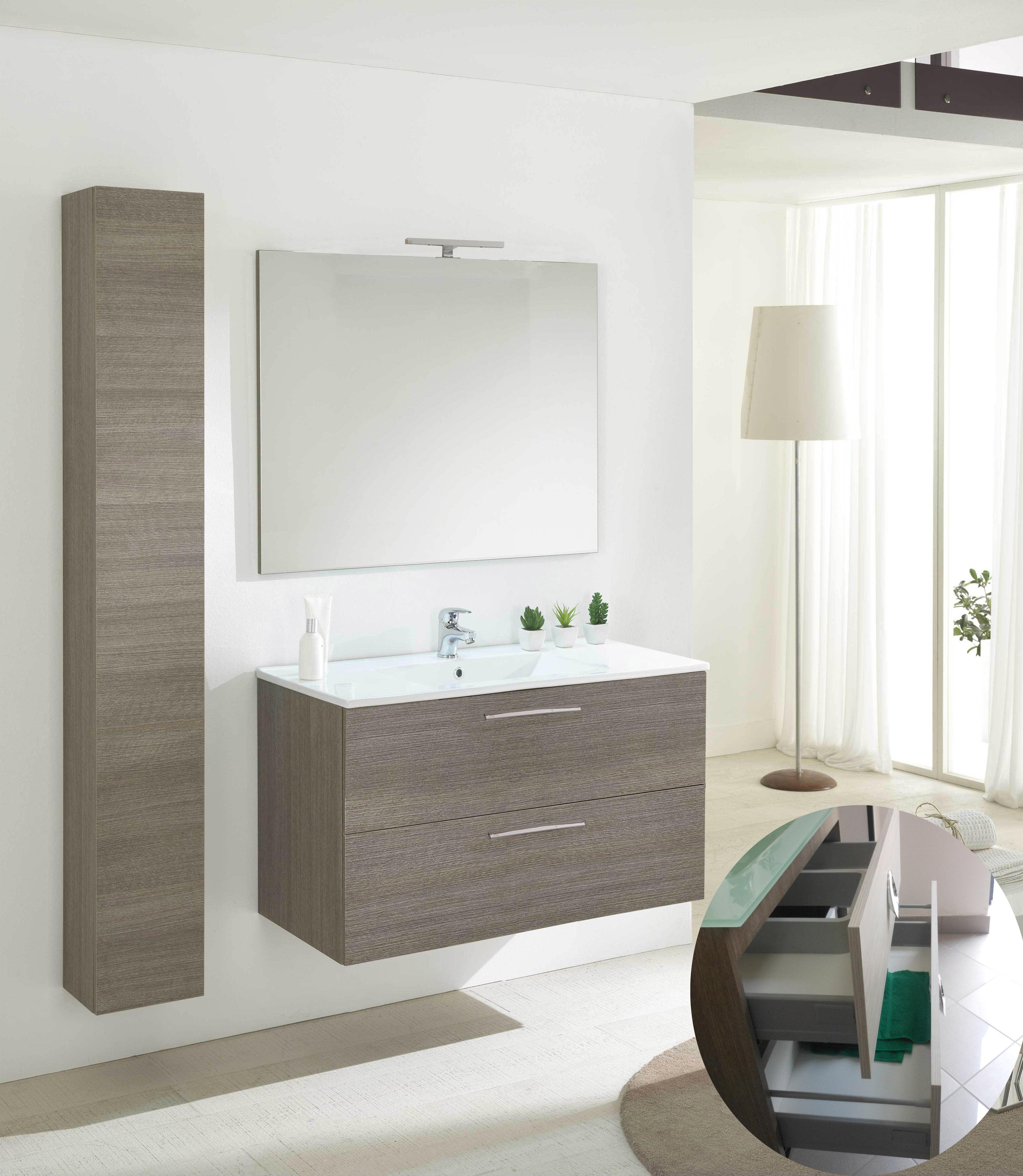 Armadietto Bagno Moderno mobile da bagno moderno sospeso angela 80 savini arredo bagno