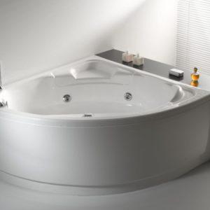 Vasca Da Bagno Con Pannelli.Vasca Da Bagno 140x125 Con Telaio E Pannello Mod Ely