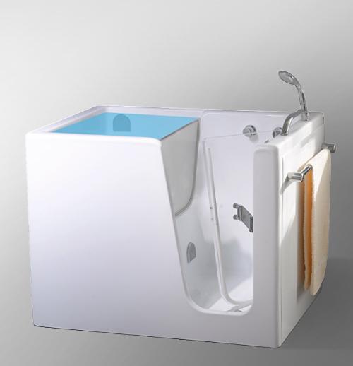 Vasca Con Sportello 100x70 Small Auxilia Terza Eta E Disabili Ceramiche De Paola