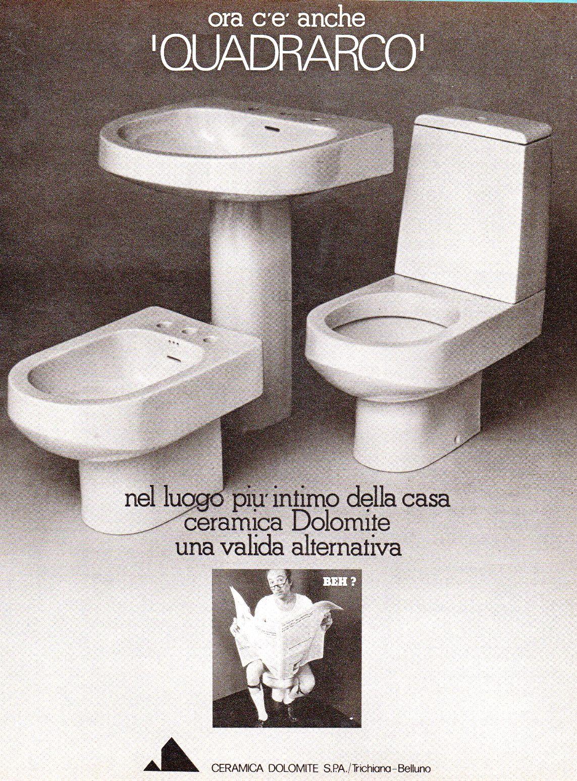 Ceramica Dolomite Bidet Quadrarco A Pavimento Ceramiche De Paola