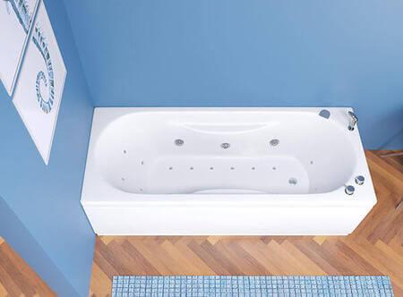 Vasca Da Bagno Jenny Rettangolare Con Pannelli Ceramiche De Paola